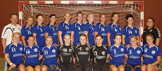 Mannschaftsfoto 1. Damen